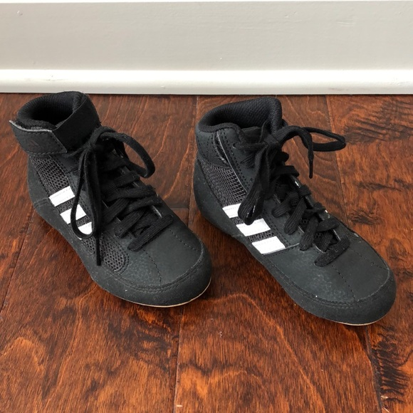 best cheap 802f0 bb0ff adidas Other - adidas Kids  HVC Wrestling Shoes